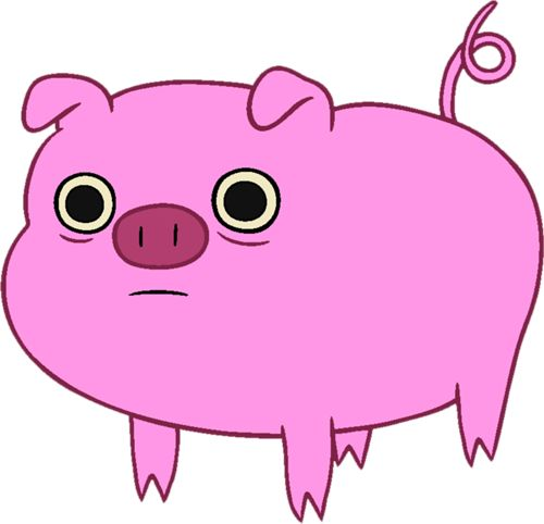 Pink Pig Clipart