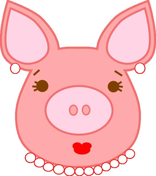 528x596 Pig Clip Art
