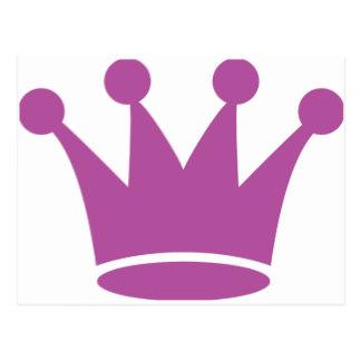 324x324 Pink Princess Crown Postcards Zazzle