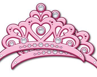 340x270 Pink Princess Crown Etsy