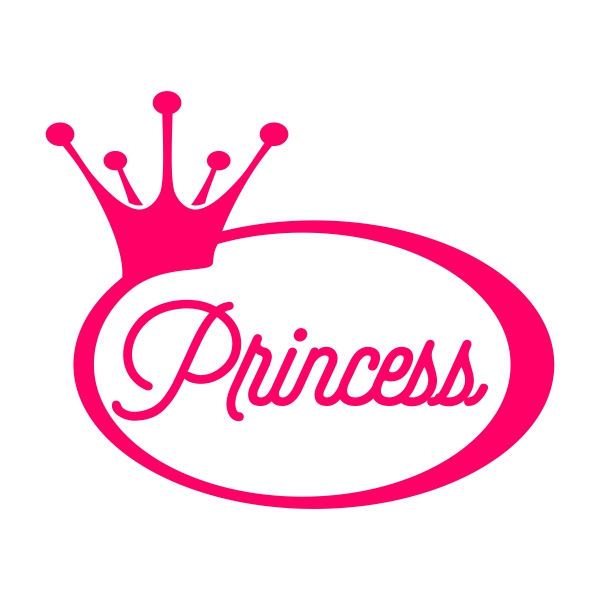 600x600 Princess Crown Svg Cuttable Frames