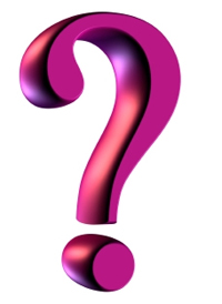200x274 Pink Question Mark Clipart