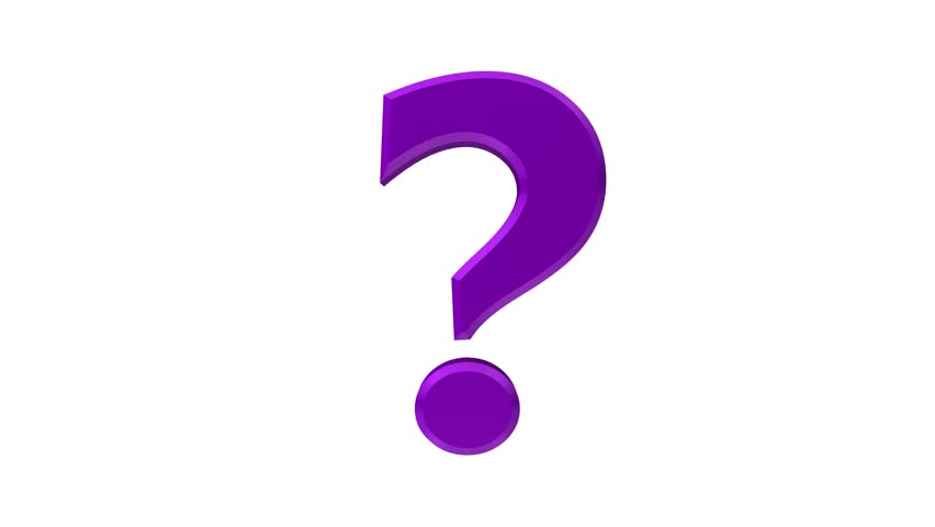 852x480 Question Mark Exclamation Mark Exclamation Point 3d Rendering
