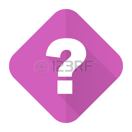 450x450 Question Mark Violet Pink Circle 3d Modern Flat Design Icon
