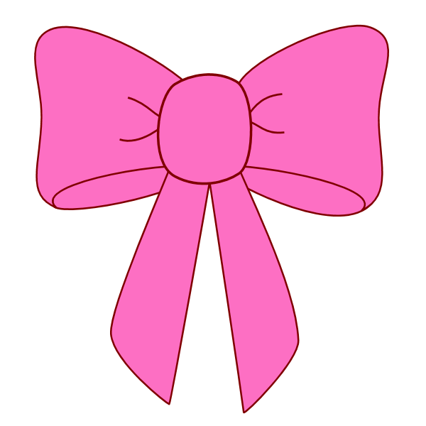 600x600 Graphics For Pink Hair Bow Graphics