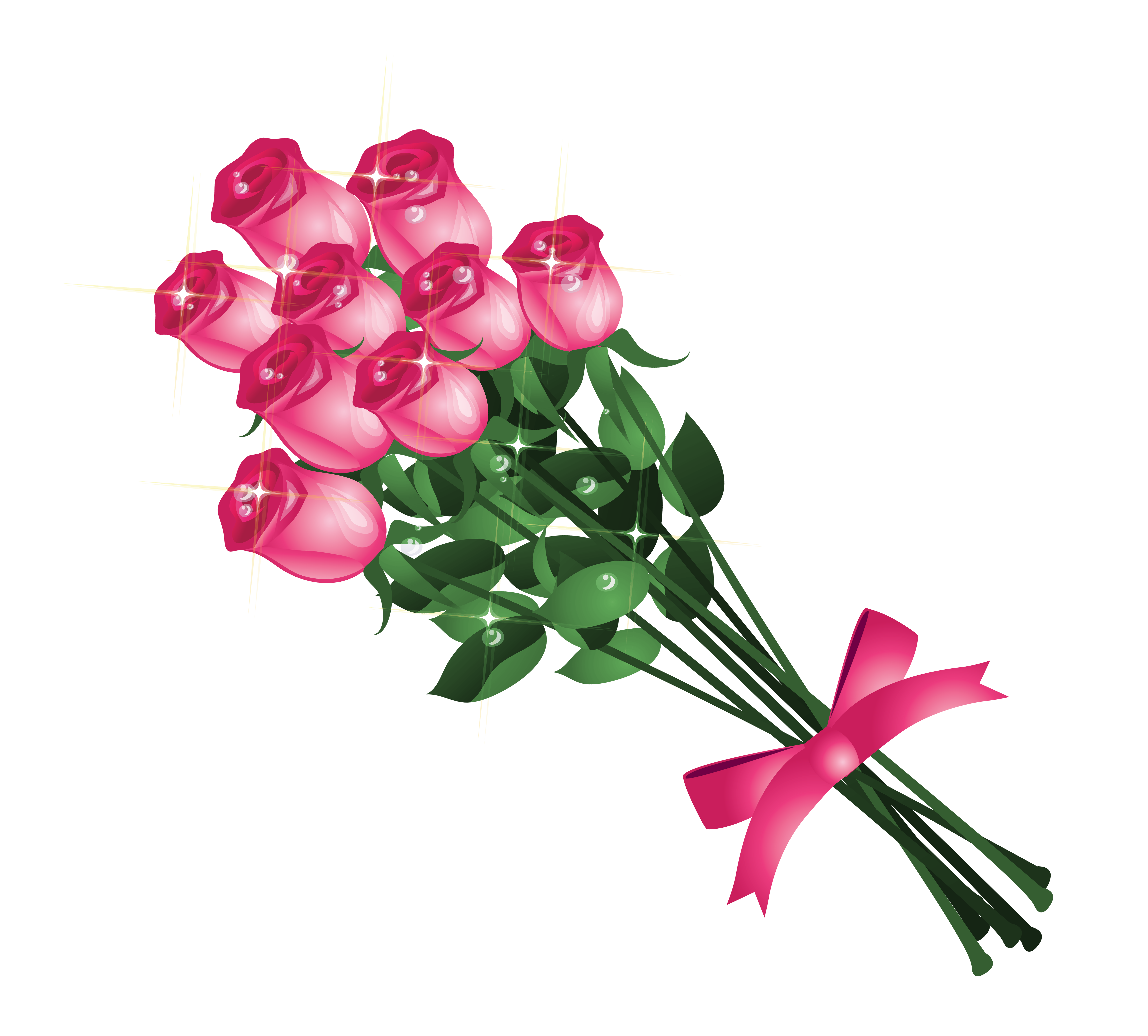 Pink Rose Clipart Free Download Best Pink Rose Clipart On