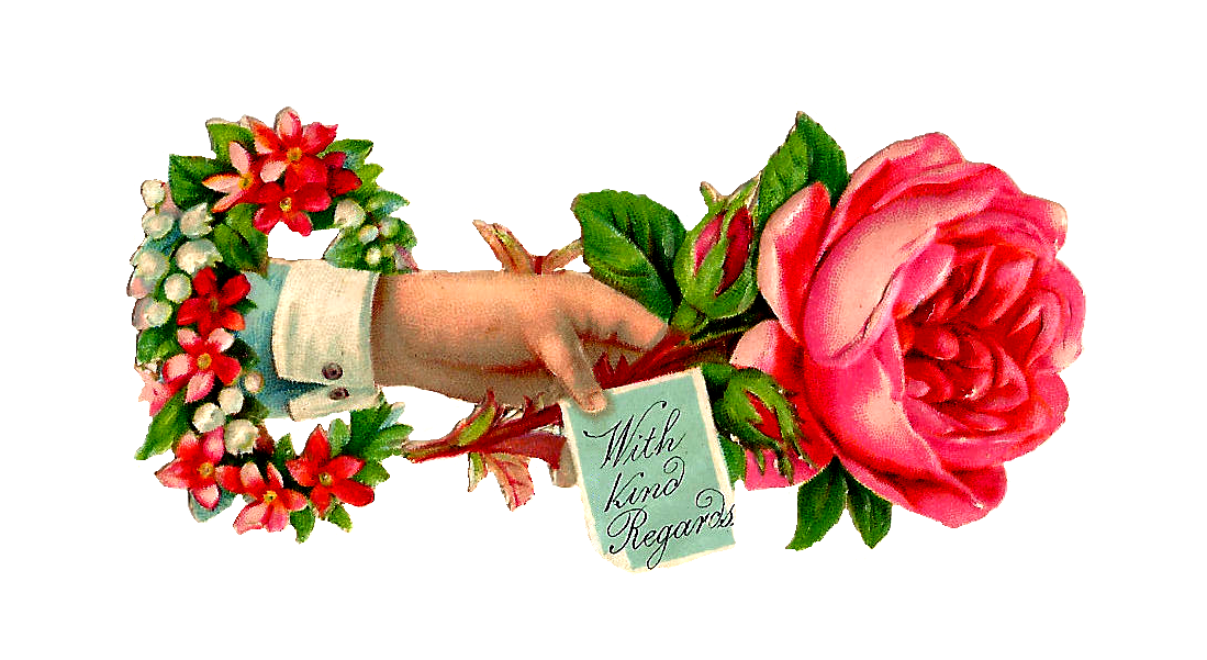 1099x601 Free Rose Clip Art Pink Rose Clipart Panda