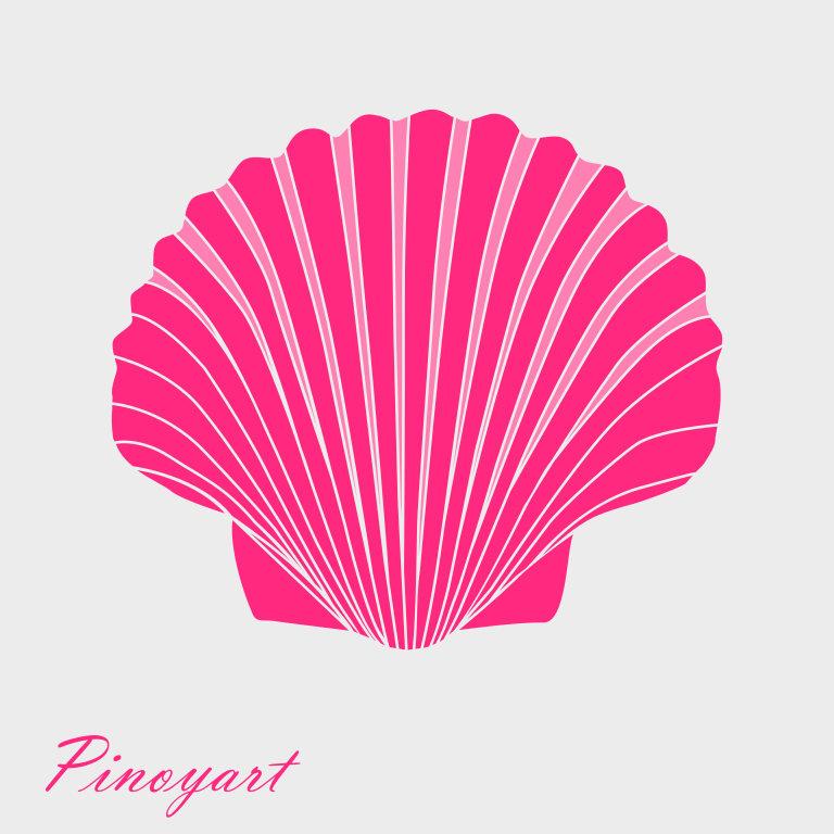 768x768 Shell Svg,seashell Svg,shell Svg,svg,dxf,png,pdf,clam Svg