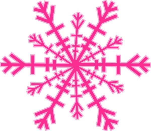 600x520 Snowflake Clip Art