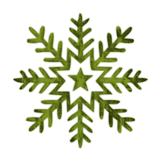 512x512 Snowflake Clipart Transparent Background