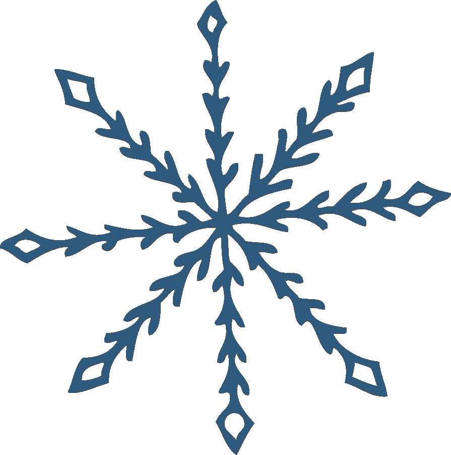 895x902 Snowflake Clipart Frozen Snowflake