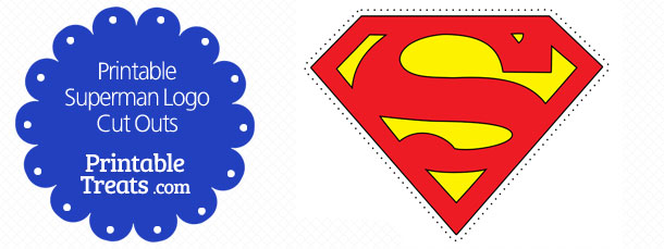 610x229 Large Printable Superman Logo Printable
