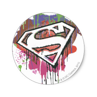 324x324 Superman Emblem Stickers Zazzle.co.uk