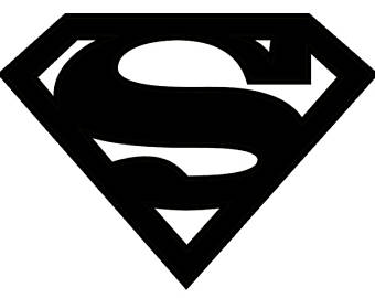 340x270 Superman Stencil Etsy