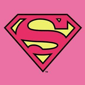 288x288 Pink Supergirl Logo