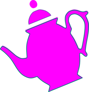 291x300 Teapot Pouring Clip Art