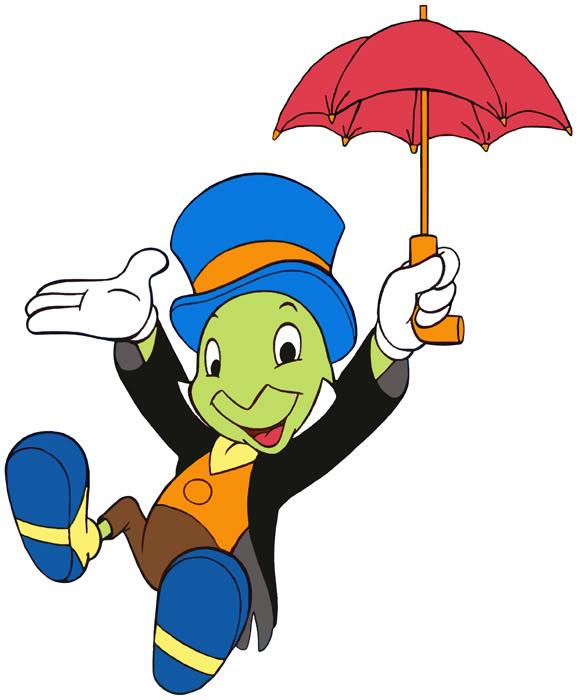 581x700 Pinocchio Clipart Jiminy Cricket