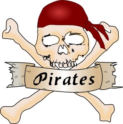 420x425 Pirate Island Clip Art, Vector Pirate Island