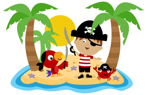 600x390 Island Clipart Pirate Island