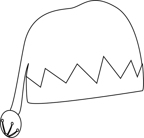 500x478 Hat Black And White Party Hat Clip Art Black And White Free