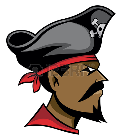 Pirate Head Cliparts