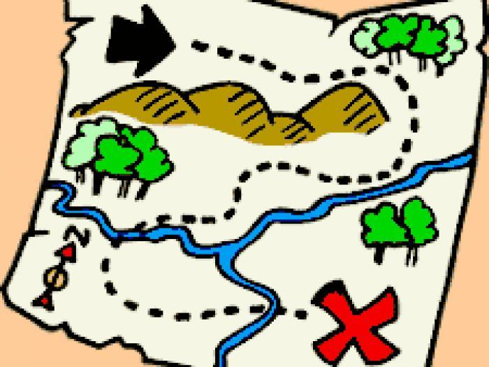Pirate Map Clipart