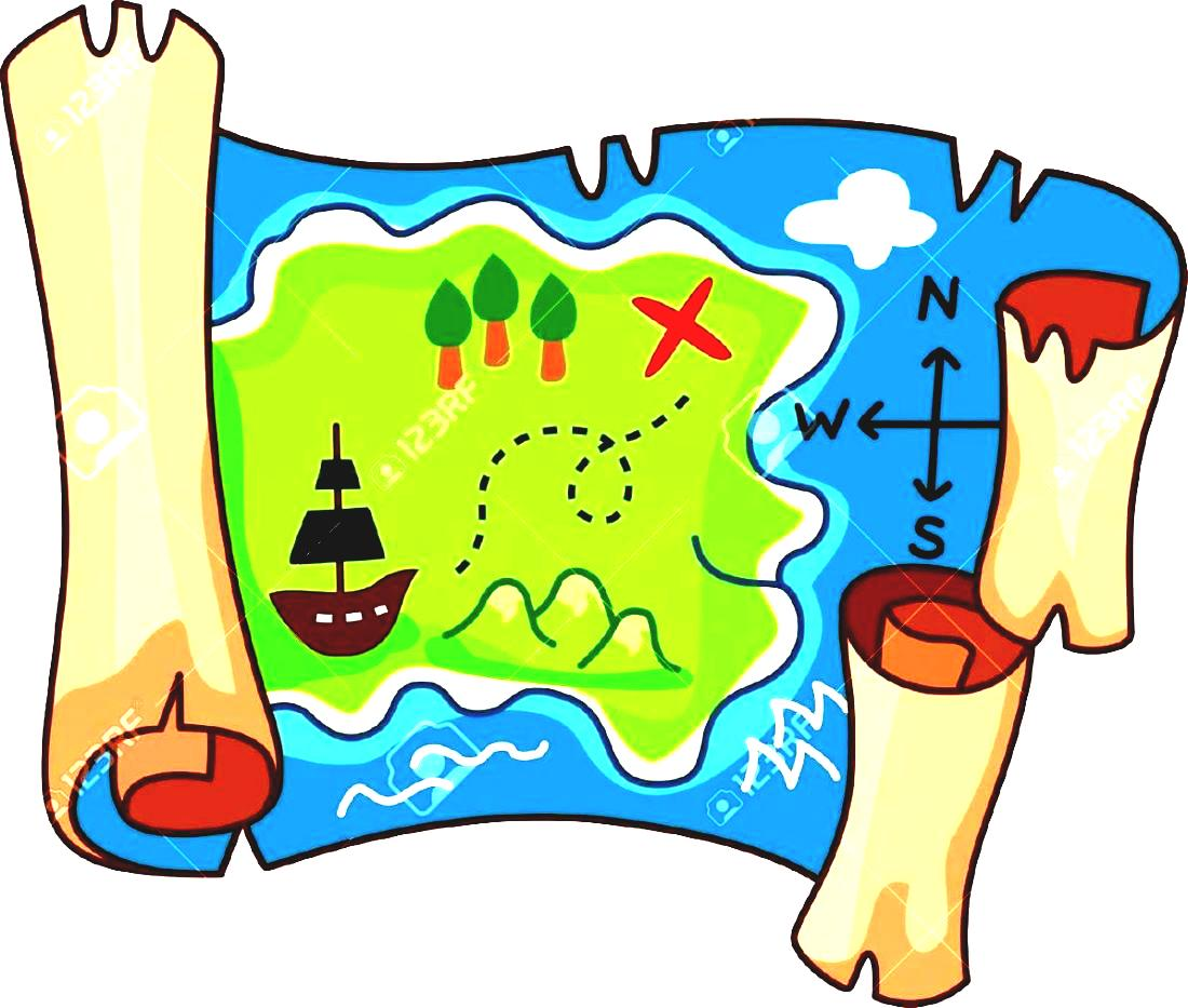 1100x933 Treasure Map Map Clipart Free Clip Art Images