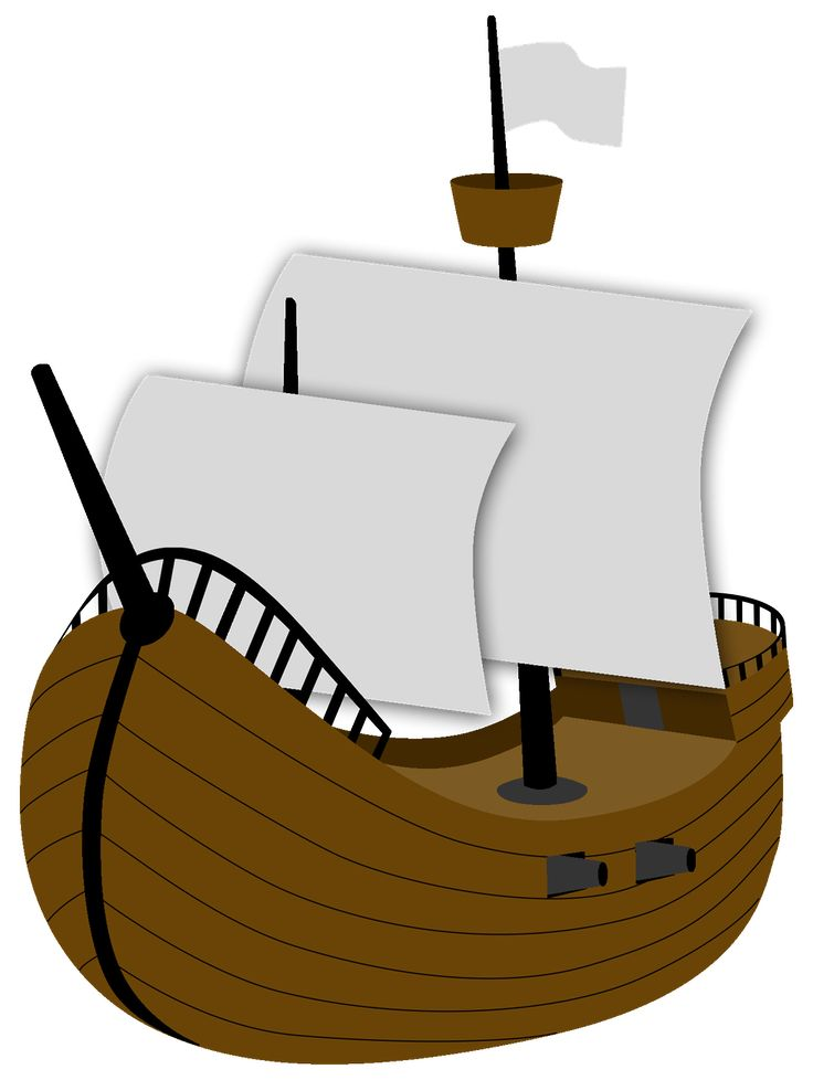 Pirate Ship Clipart