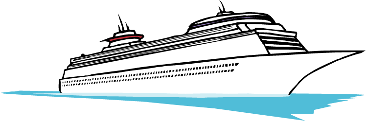 750x251 Cartoon Cruise Ship Clipart Kid