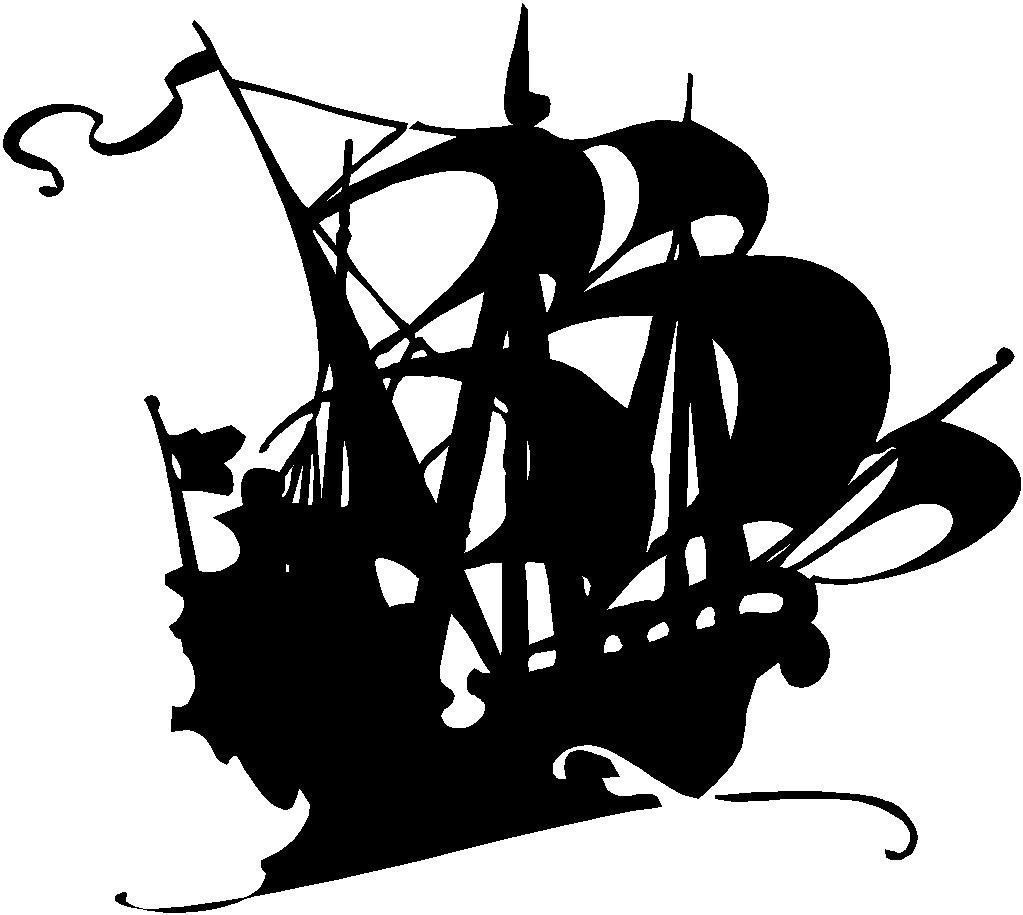 1023x915 Sale Pirate Ghost Ship Vinyl Decal By Bubbaanddoodle On Etsy My