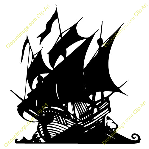 500x500 Sailing Ship Clipart Shadow