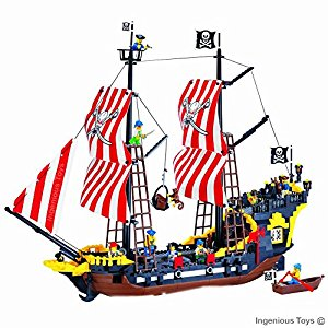 300x300 Large Pirate Ship With Mini Figures Pirates
