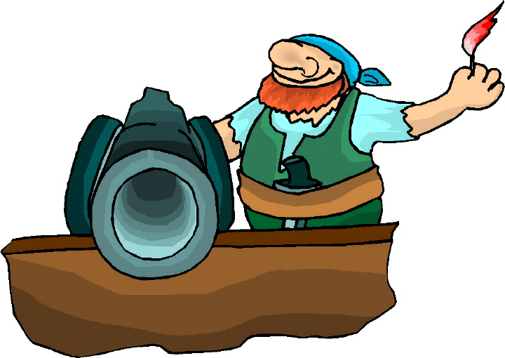 720x510 Pirate Ship Cannon Clipart