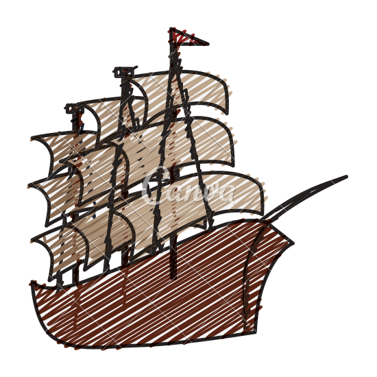 550x550 Pirate Ship Icon