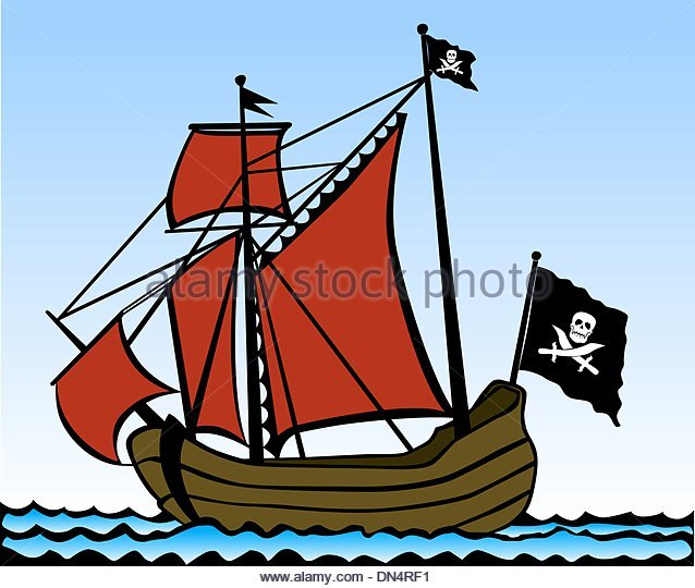 638x540 Artwork Pirate Ship Stock Photos Amp Artwork Pirate Ship Stock