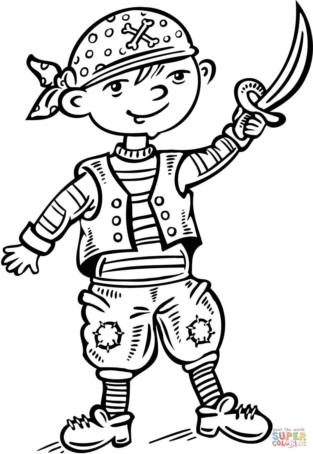 1060x1536 Coloring Pages Kids Pirate Pictures For Kids To Print Pirate