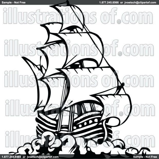 618x618 Coloring Amusing Pirate Ship Outline. Pirate Ship Wheel Outline