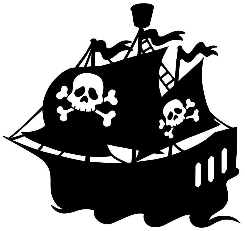 1001x944 Pirate Ship Silhouette And Shapes Pirate Ships