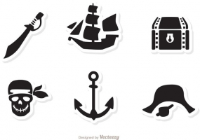 285x200 Pirate Captain Free Vector Graphic Art Free Download (Found 243