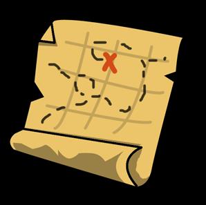 298x297 Treasure Clipart Treasure Map