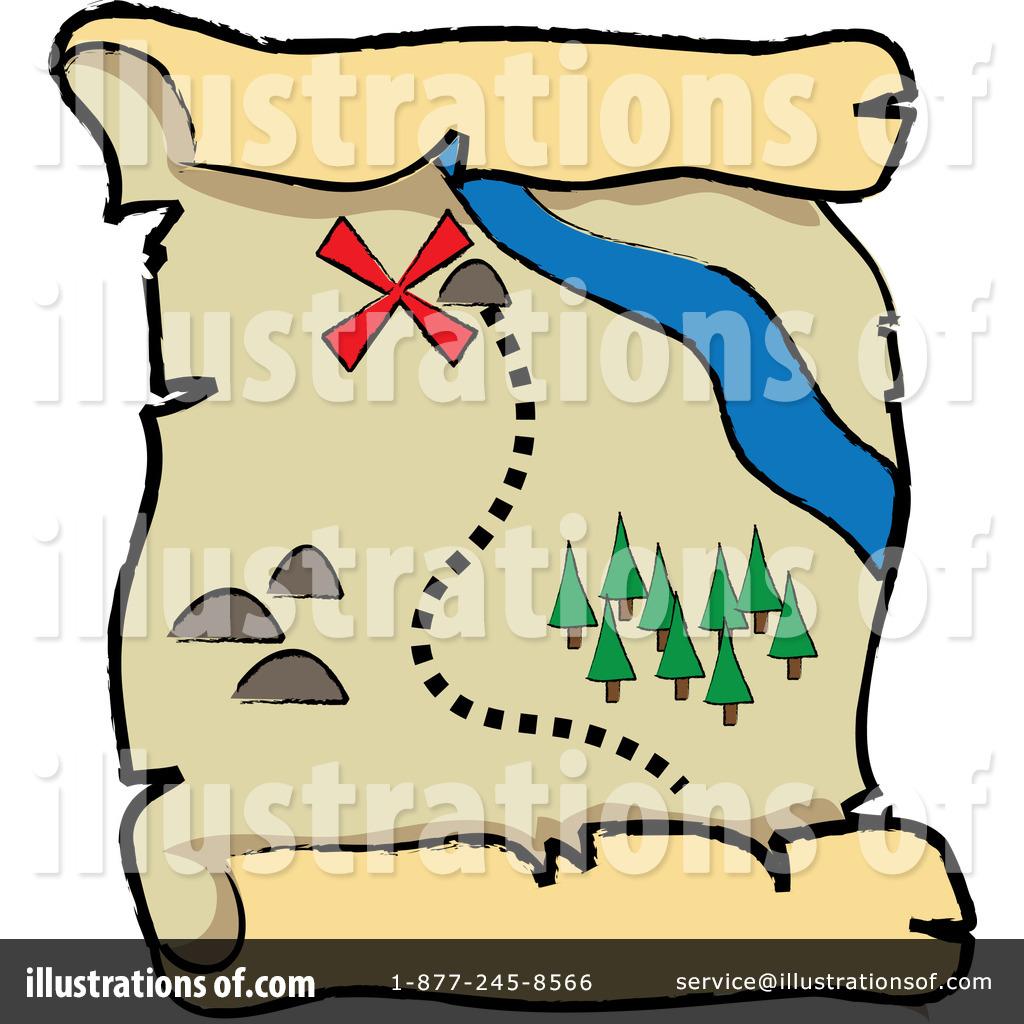 1024x1024 Map Clipart Treasure Map
