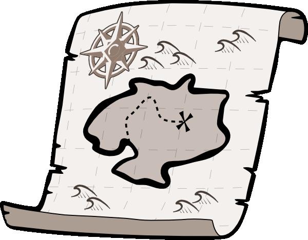 600x468 Treasure Map Clip Art