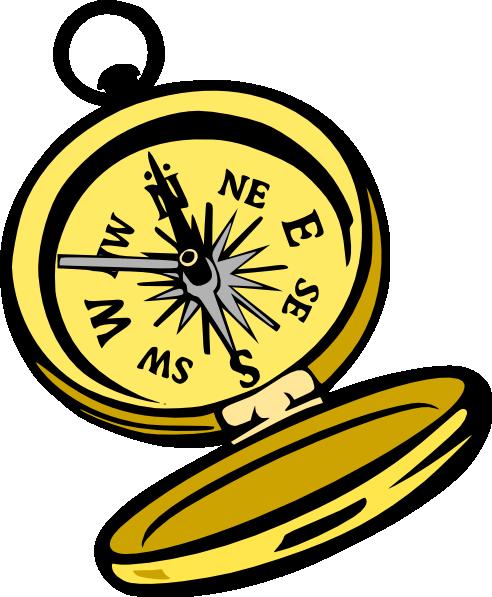 492x597 Treasure Map Compass Clip Art