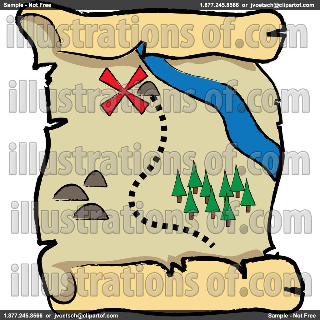 1024x1024 Clip Art Pirate Map Clipart