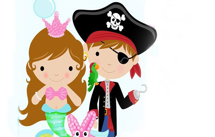 720x459 Mermaid Clipart Pirates