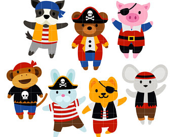 340x270 Pirates in the Carribbean Treasure Quest Digital Clip Art for