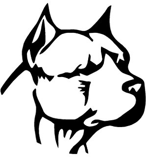 298x320 Pitbull Clipart Bully