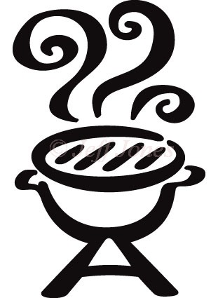 311x425 Barbecue Clipart Bbq Pit