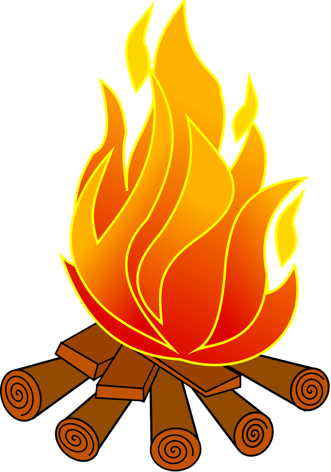 1123x1600 Free Fire Pit Clipart
