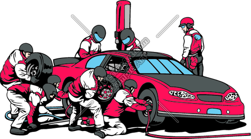 500x276 Graphics For Pit Crew Member Clip Art Graphics